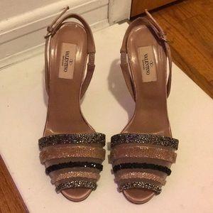 Valentino Beaded Sandals